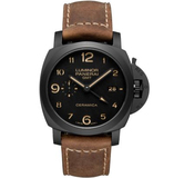 沛纳海Panerai LUMINOR 1950 3 DAYS GMT AUTOMATIC CERAMICA PAM00441/PAM441 - V4 终极版沛纳海Panerai LUMINOR 195